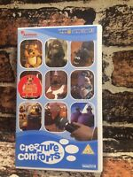 Aardman Creature Comforts S1 P1 Comedy VHS Video Tape Collectable RARE TBLO