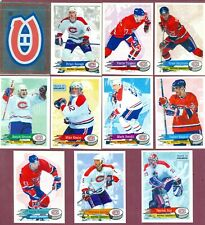 1995-96 PANINI STICKERS & FOIL NHL HOCKEY CARD 1 TO 154 SEE LIST