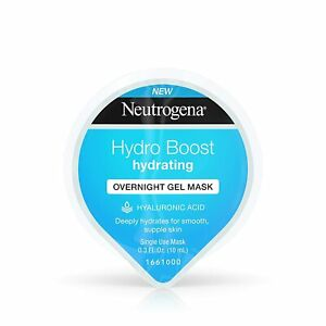 Neutrogena Hydro Boost Moisturizing Overnight Gel Cream Face with Hydrating...