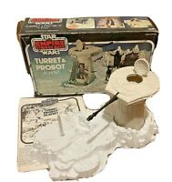 Star Wars ESB 1979 Kenner Turret & Probot playset original box manual 38330 hoth