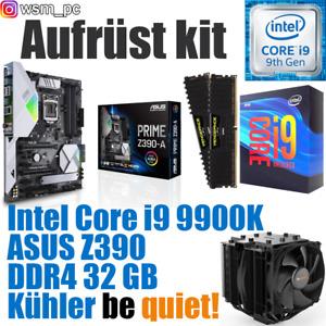 🅸🅽🆃🅴🅻 Core i9 9900K ● ASUS Z390 Mainboard ● 32GB RAM ● Intel PC Bundle Kit