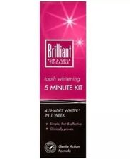 2x  Brilliant 5 Minute Tooth Whitening Kit
