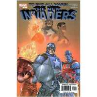 New Invaders #1 in Near Mint condition. Marvel comics [*oi]
