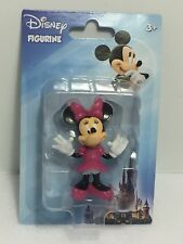 """Minnie Mouse Figurine Small New In Package Disney Figurine 2.5"""" Toy, Cake Topper"""