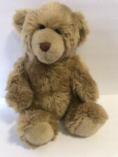"BAB Build A Bear Tan Bear Plush Stuffed Toy Animal 15"""