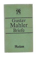 Gustav Mahler * Briefe * Verlag Reclam