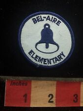 Bell Logo BEL-AIRE ELEMENTARY Florida School Patch S77D