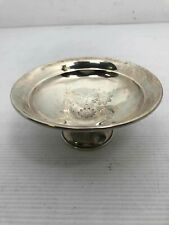 Floral Weighted Sterling Silver Composite Bowl 113.3981g