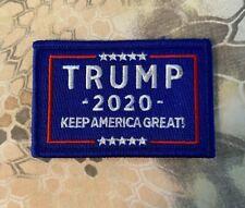 "VELCRO® BRAND Hook Fastener Compatible Patch Trump 2020 KAG Merica Morale 3x2"""