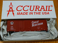 Accurail Ho #3801 (40' Comb Dr. Steel Box) Gn