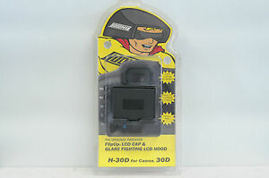 Hoodman Flip Up LCD Cover H-30D For Canon 30D Camera