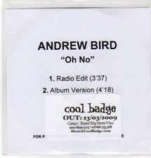 (AW577) Andrew Bird, Oh No - DJ CD
