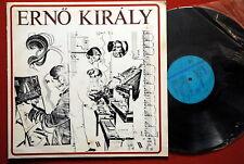 ERNO KIRALY PSYCH AVANT GARDE 1979 RARE EXYUGO LP MINT