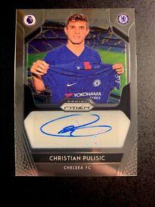 2019-2020 Prizm Christian Pulisic Auto Chelsea Premier League USA ✨💫