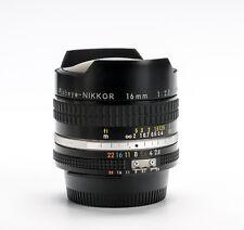 Nikon 16mm f/2.8 Fisheye-Nikkor AIS