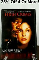 High Crimes (DVD, 2002)~25% Off 4 Or More!