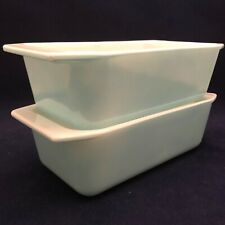 Pyrex Robin Egg Blue 913 Loaf Pan USA 1.5 Quart