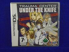 ds TRAUMA CENTER Under The Knife Simulation Game Lite DSi 3DS PAL UK REGION FREE