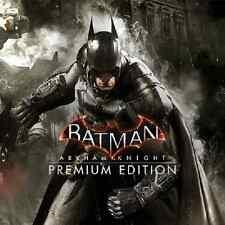 Batman Arkham Knight PC Steam Redemption No Disc/box Region