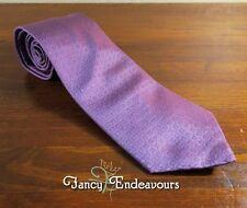 "Gucci Italy Purple ""G"" Square Silk Necktie Tie"
