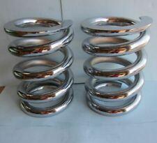 Lowrider Hydraulics 1 ton coil springs precuts chrome, flat edges
