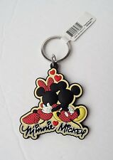 Disney - Mickey & Minnie Mouse Cuddle Lasercut Keychain/Keyring