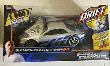 Jada R/C Remote Control Fast & Furious Brian's Nissan Skyline GT-R