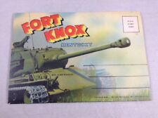Fort Knox Kentucky Vintage Color Postcard Souvenir Book