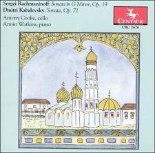 Rachmaninoff : Sonata in G Minor Op. 19Son CD