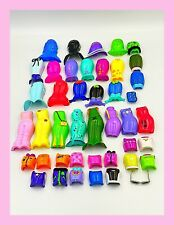 """Mattel 90's Diva Starz Huge Lot of Snap On Clothes 43 Pieces 9"""" Dolls"""