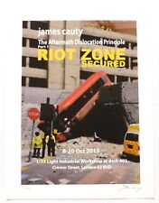 James Cauty - Riot Zone secured   2013 SIGNED NUMBERED LIMITED EDITION ART PRINT
