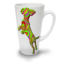 Psychedelic Dog Fashion NEW White Tea Coffee Latte Mug 12 17 oz | Wellcoda