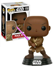 Funko Pop 172 Star Wars Vinyl Figure Mace Windu 9 Cm Case