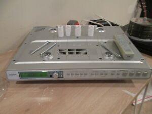 SONY ICF-CD553RM  Am/Fm Stereo CD KITCHEN mount CLOCK RADIO  w/ Remote + Mounts