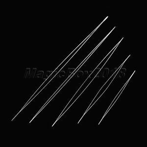 5pcs 5 Sizes Beading Needles Threading String Cord Jewelry Necklace Making Tool