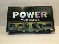 POWER THE GAME Spears Board Game Vintage 1996Strategic **100% COMPLETE**