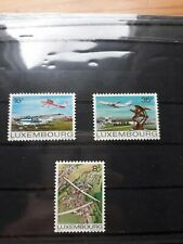 timbre luxembourg (th) lot 59   neufs   n987/9    aviation