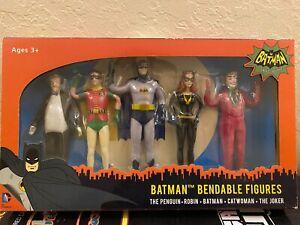 Batman Classic TV Series Bendable Figures NEW in box