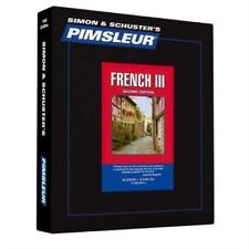 Pimsleur Learn/Speak FRENCH Language Level 3 CDs NEW!!