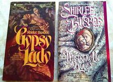 SHIRLEE BUSBEE: Wisper to Me of Love, Gypsy Lady (Vintage 1991) 1st printing