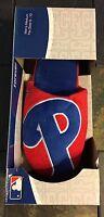 Brand New Philadelphia Phillies Big Logo Slippers Men's Size 9-10 New MLB