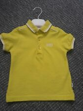 hugo boss polo 12 months very small made. only worn a hand full of times.