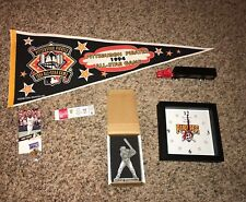 6 Piece 1990's Pittsburgh Pirates Memorabilia Lot Pennant Playoff Ticket+