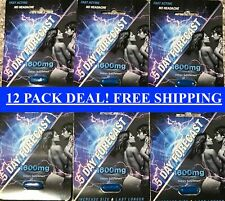 5 Day Forecast 1600 mg Male Sexual Enhancement Supplement Authentic Pill (12 PK)