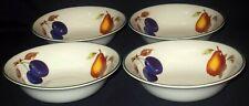 FOUR Royal Worcester EVESHAM VALE Cereal Bowls
