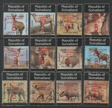 Thematic Stamps Animals - SOMALILAND 1999 DEF O/P SCOUTS  red mint