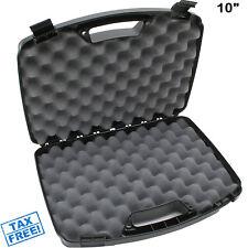 Hard Gun Case Pistol Handgun Foam Storage Box Tactical Revolver Travel Carry