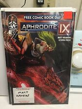 aphrodite #1 Fcbd signed matt hawkins free comic book day issue