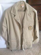 Vintage John Matthew California Safari Jacket And Pants Made in Usa