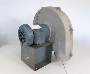 Cincinnati Fan PB-12A Blower Fan, 1HP 208-230/460V 3600rpm Motor, 1100-BC-CW